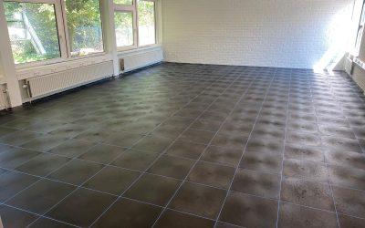 VMBO de nieuwe inslag Breda Nicocyl vloer in praktijklokalen